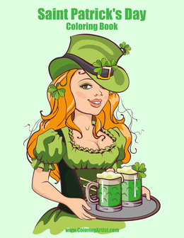 Saint Patrick's Day Coloring Book 1