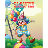 Clowns Coloring Book 1