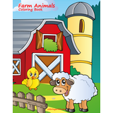 Farm Animals Coloring Book 1