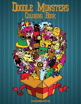 Doodle Monsters Coloring Book 1