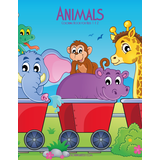 Animals Coloring Book for Kids 1 & 2