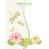 Flower Designs Coloring Book for Grown-Ups 3