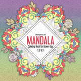 Mandala Coloring Book for Grown-Ups 1, 2 & 3