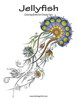 Jellyfish Coloring Book for Grown-Ups 1