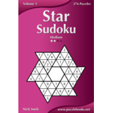 Star Sudoku - Medium - Volume 3 - 276 Logic Puzzles