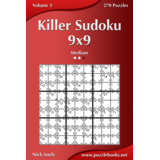 Killer Sudoku 9x9 - Medium - Volume 3 - 270 Puzzles