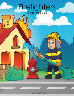 Firefighters Coloring Book 1