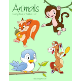 Animals Coloring Book for Toddlers 1 & 2