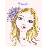 Faces Coloring Book for Grown-Ups 4