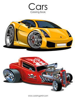 Cars Coloring Book 1