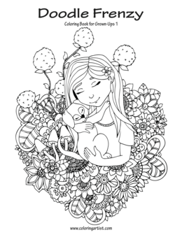 Doodle Frenzy Coloring Book for Grown-Ups 1