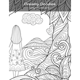 Dreamy Doodles Coloring Book for Grown-Ups 1 & 2