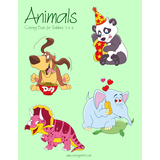 Animals Coloring Book for Toddlers 3 & 4