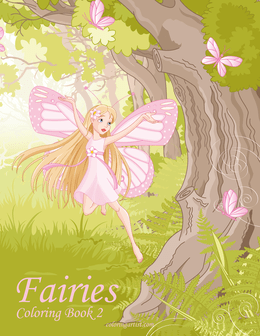 Fairies Coloring Book 2