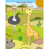 Wonderful World Coloring Book 1