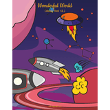 Wonderful World Coloring Book 1 & 2