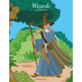 Wizards Coloring Book 1