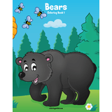 Bears Coloring Book 1