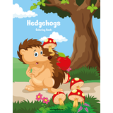 Hedgehogs Coloring Book 1