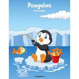 Penguins Coloring Book 1