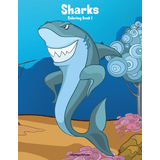 Sharks Coloring Book 1