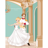 Princesses and Princes Coloring Book 1