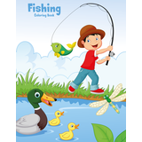 Fishing Coloring Book 1