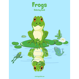 Frogs Coloring Book 1