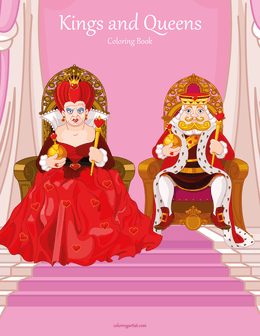 Kings and Queens Coloring Book 1
