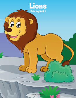 Lions Coloring Book 1
