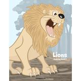 Lions Coloring Book 2