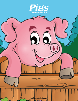 Pigs Coloring Book 2
