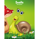 Snails Coloring Book 1
