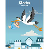 Storks Coloring Book 1