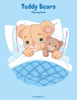 Teddy Bears Coloring Book 1