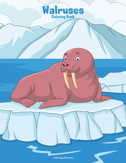 Walruses Coloring Book 1