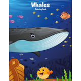 Whales Coloring Book 1