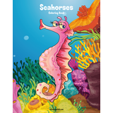 Seahorses Coloring Book 1