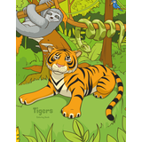 Tigers Coloring Book 1