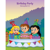 Birthday Party Coloring Book 1 & 2