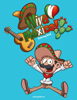 Viva México Coloring Book 1