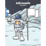 Astronauts Coloring Book 1