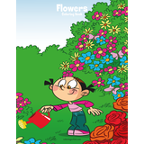 Flowers Coloring Book 1