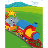 Trains Coloring Book 1