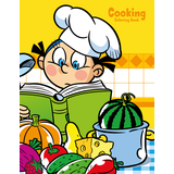 Cooking Coloring Book 1