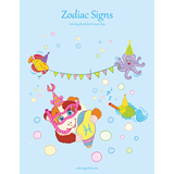 Zodiac Signs Coloring Book 1