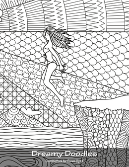 Dreamy Doodles Coloring Book for Grown-Ups 4