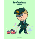 Professions Coloring Book 1