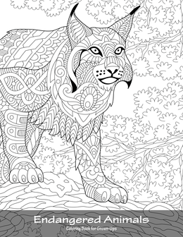 Endangered Animals Coloring Book for Grown-Ups 1