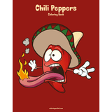Chili Peppers Coloring Book 1